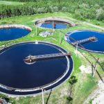 Municipal wastewater-treatment