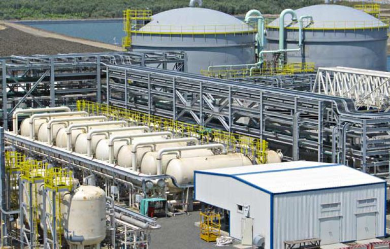 Water treatment plant sanitizer GO2