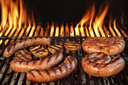 grilling brats food ingredients
