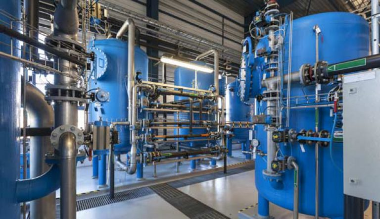 water treatment plant sanitizers