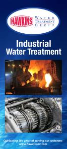Industrial Water Treatment Brochure