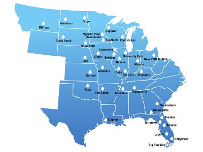 Water Treatment Locations