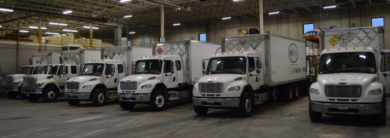 Water treatment trucks